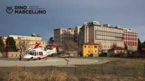 118 Piemonte HEMS Airgreen AW-139<br /> Piazzola HEMS ed Ospedale di Pinerolo (To)<br /> 29-12-2017